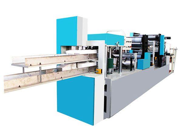 JN-CJ-2L-2P-I 双排双色印刷餐巾纸折叠机