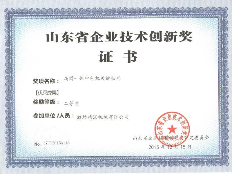 关键技术奖